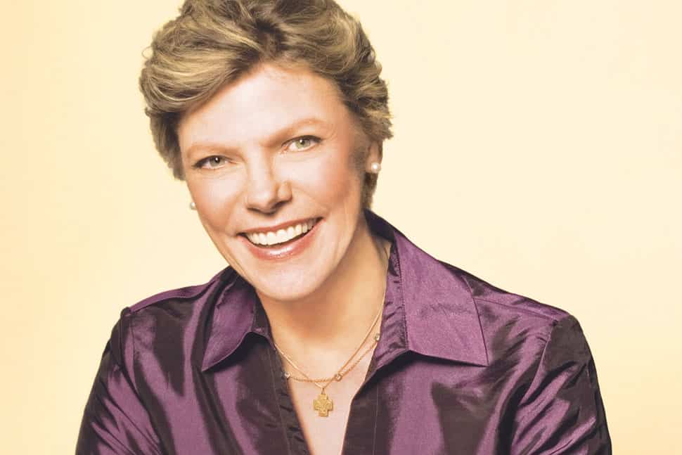 Cokie Roberts. Photo: Lynn Goldsmith