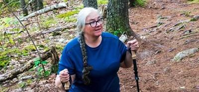 Dorcas Library Director Faith Lane