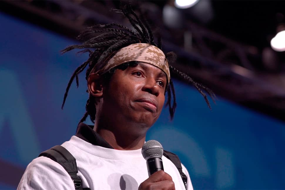 Adolph Brown at the 2019 American Association of School Librarians 2019 National Conference. Photo: AASL