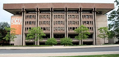 Syracuse University's Bird Library