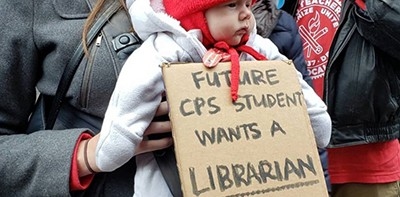 All ages picketed in support of the Chicago Teachers Union during the recent walkout