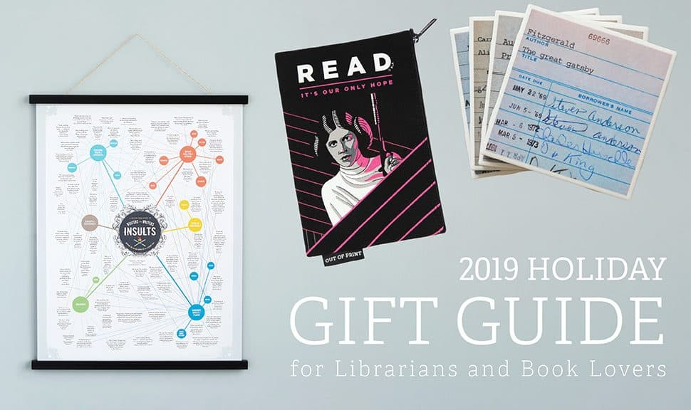 2019 Gift Guide for Librarians and Book Lovers