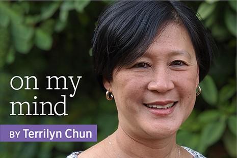 On My Mind by Terrilyn Chun