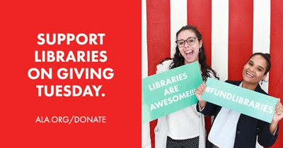 Support Libraries on Giving Tuesday