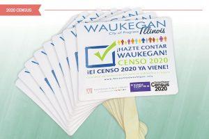 Spanish-language census marketing materials used by Waukegan (Ill.) Public Library. Photo: Waukegan (Ill.) Public Library