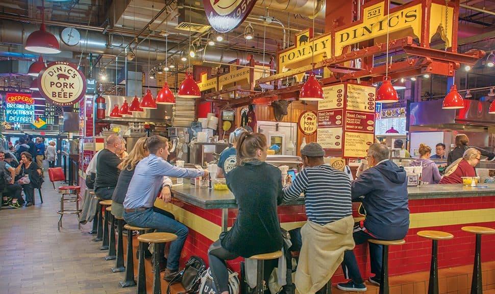 Reading Terminal Market. Photo: Visit Philadelphia