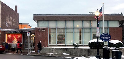 Fields Corner branch of the Boston Public Library in Dorchester