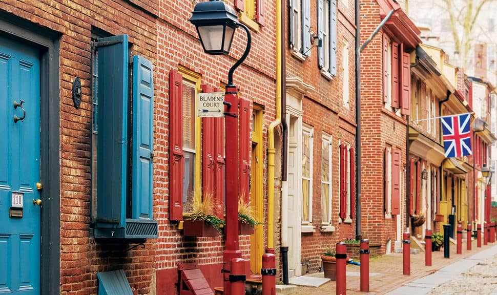 Photo: A street in Philadelphia, site of ALA's 2020 Midwinter Meeting & Exhibits