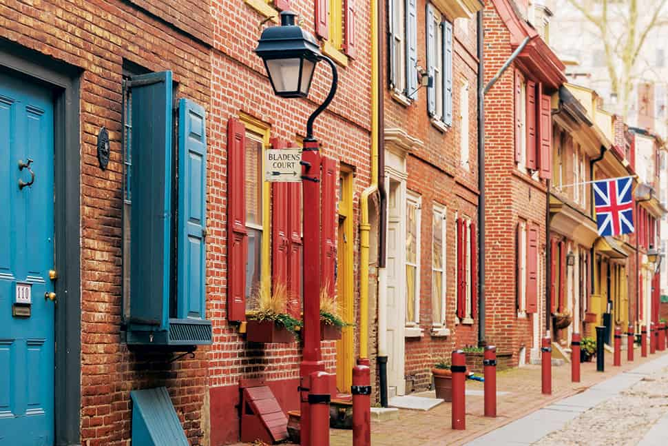 Photo: A street in Philadelphia, site of ALA's 2020 Midwinter Meeting & Exhibits