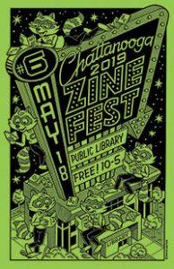 Chattanooga (Tenn.) Zine Fest poster