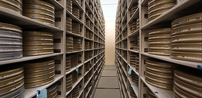 The UCLA Film and Television Archive maintains more than 450,000 holdings in a state-of-the-art facility in Santa Clarita. Photo by Juan Tallo
