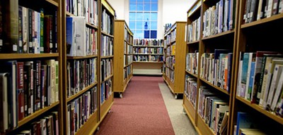 Woolton Library in Liverpool, which is now closed. Photo by Christopher Thomond / The Guardian