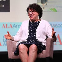 Sonia Sotomayor at ALA Annual Conference (Photo: Cognotes)