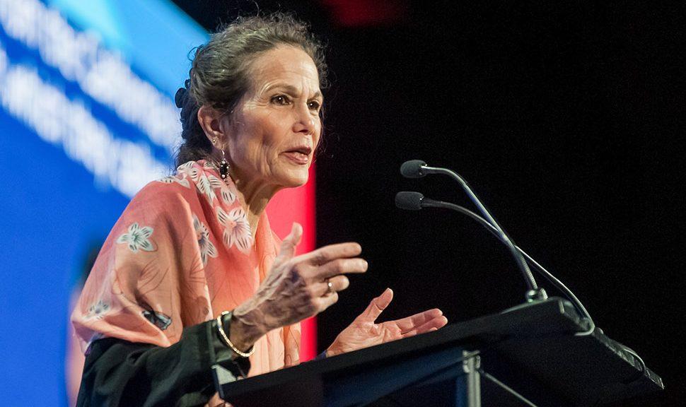 Author Julia Alvarez.