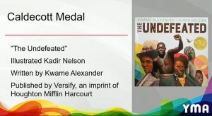Caldecott Medal, The Undefeated