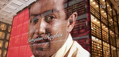 Poet Langston Hughes's bequest to Yale's Beinecke Library