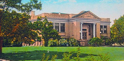 The Medford, Oregon, Carnegie library