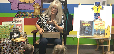 Molly Baker, Payson City (Utah) Library children's librarian
