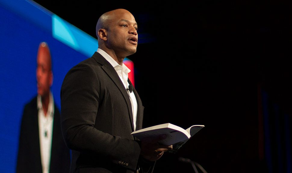 Author Wes Moore at Opening Session of the ALA 2020 Midwinter Meeting & Exhibits