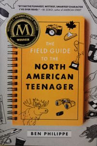 Cover of The Field Guide to the North American Teenager, by Ben Philippe