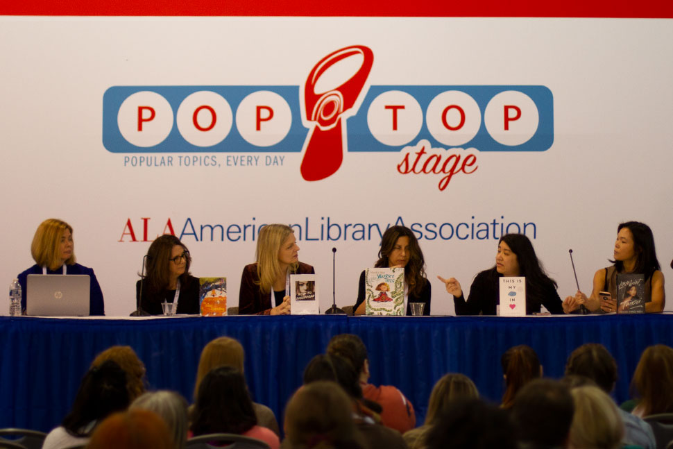 """Books in Our Age of Anxiety"" panel"