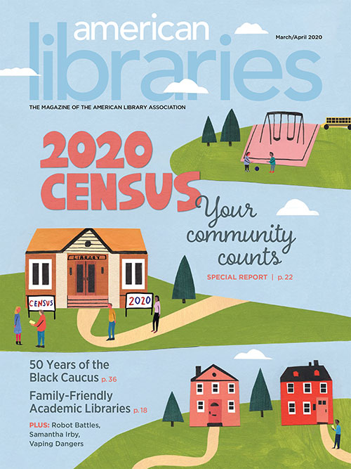 Cover of American Libraries March/April 2020