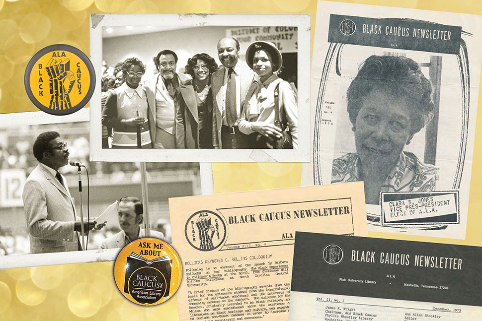 Graphic: 50th anniversary of the Black Caucus of the American Library Association (BCALA)