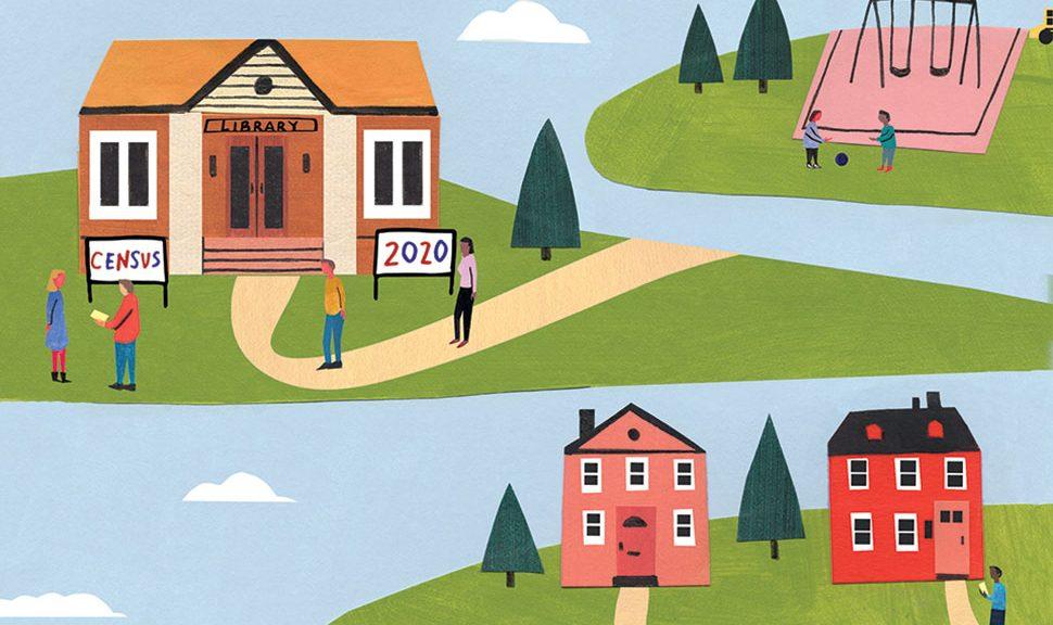 Special Report: 2020 Census Illustration: Kristen Solecki