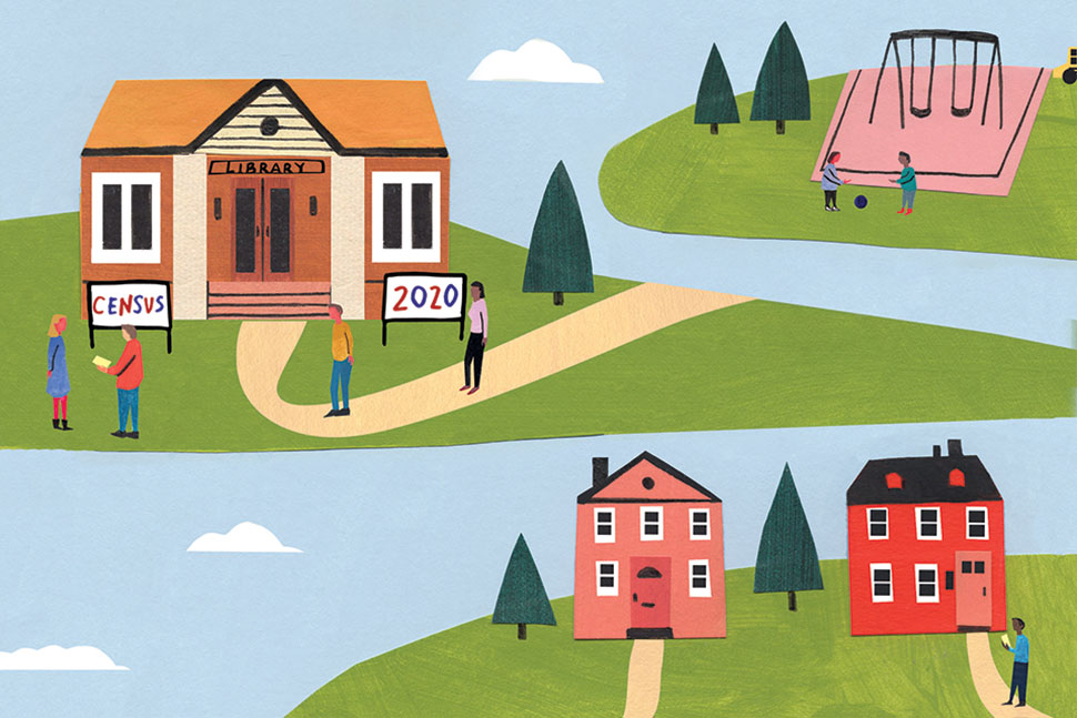 Special Report: 2020 Census Illustration: Kristen Solecki