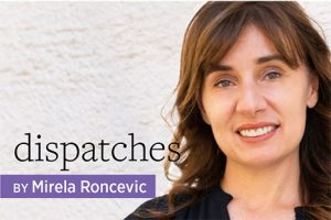 Dispatches, by Mirela Ronvevic