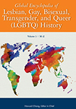 Cover of Global Encyclopedia of Lesbian, Gay, Bisexual, Transgender, and Queer (LGBTQ) History