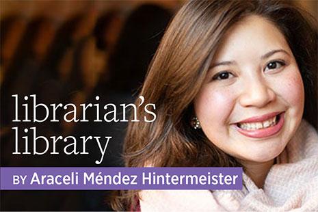 Librarian's Library by Araceli Mendez Hintermeister
