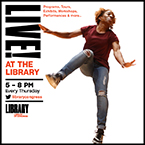 """Library of Congress """"Live! at the Library"""""""