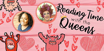 Reading Time with the Queens, Marshall Public Library