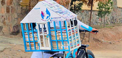 Idress Siyawash's mobile library