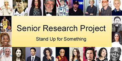 Senior Research Project: Stand Up for Something