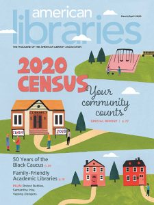 Cover of March/April 2020 American Libraries