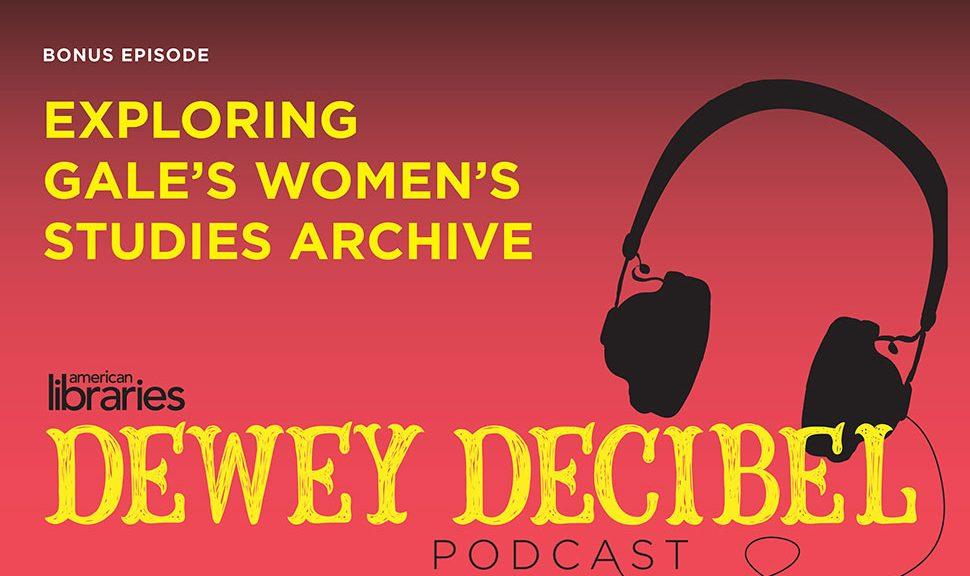 Exploring Gale's Women's Studies Archive