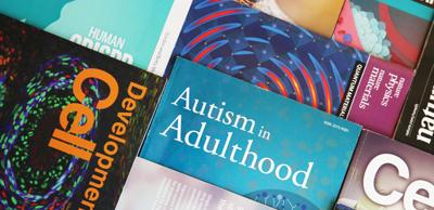Assortment of academic journals