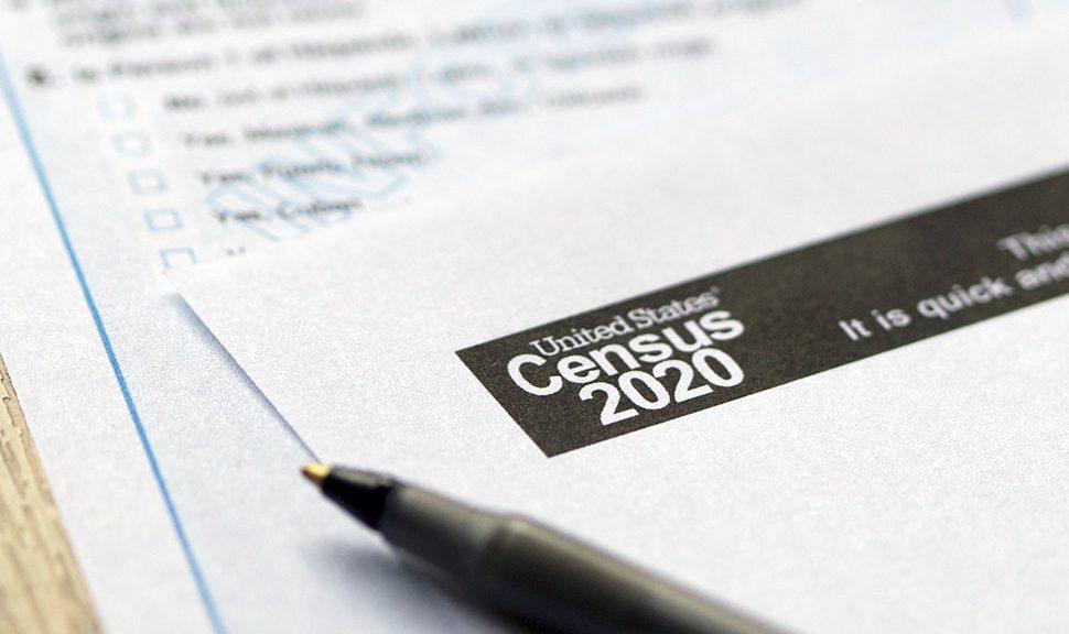 Census 2020 paperwork