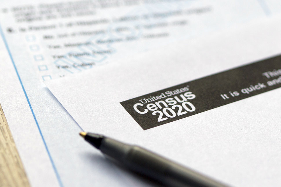 Census 2020 paperwork