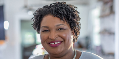 Stacey Abrams. Photo by Gerri Hernández