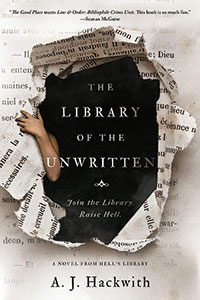 Cover of The Library of the Unwritten (A Novel from Hell's Library) By A. J. Hackwith