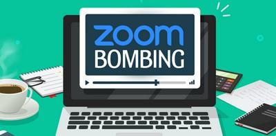 Zoombombing graphic by Gargi Singh