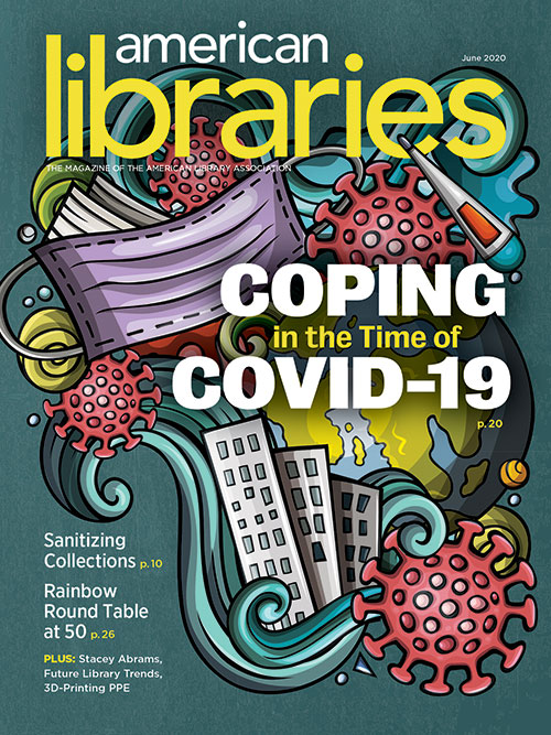 Cover of American Libraries Magazine June 2020