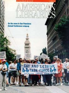 The 1992 July/August issue of <em>American Libraries.</em>
