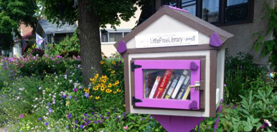 A Little Free Library in Minneapolis