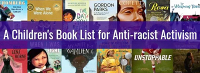 A children's book list for anti-racist activism