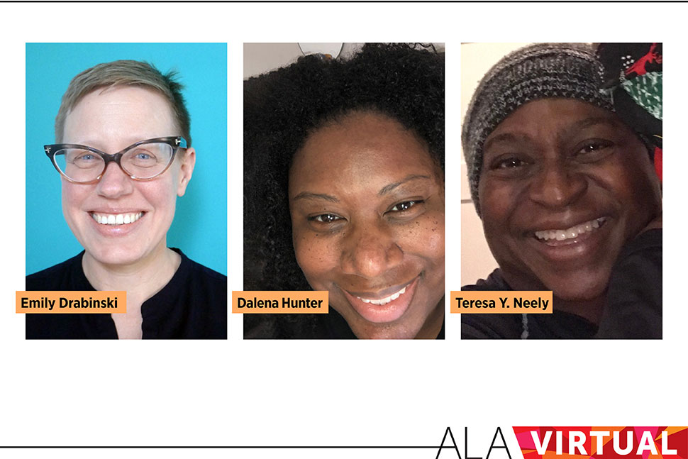 Graphic: Emily Drabinski, Dalena Hunter, and Teresa Y. Neely