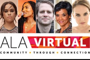 Graphic: ALA Virtual, Community Through Connection